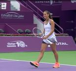 QATAR TOTAL OPEN 2017:Kerber VS Kasatkina