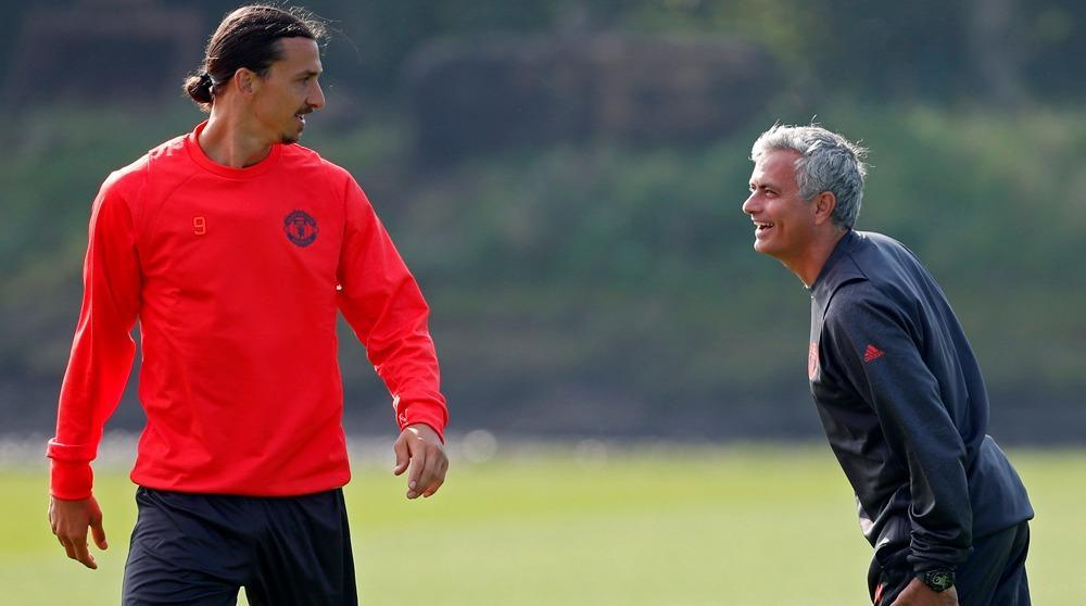 Man Utd to extend Ibrahimovic deal by one year - Mourinho
