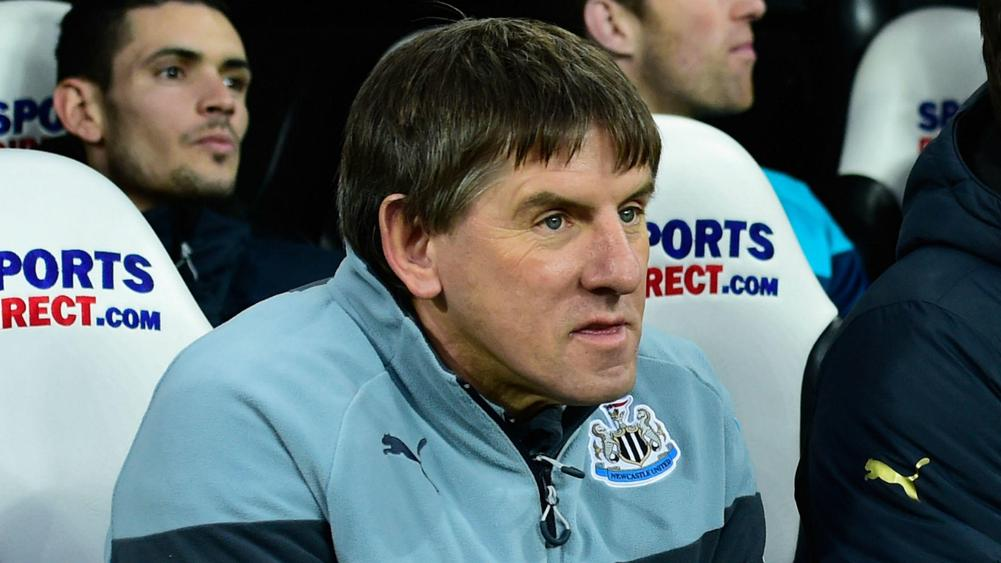 Peter Beardsley to take leave from Newcastle amid racism claims
