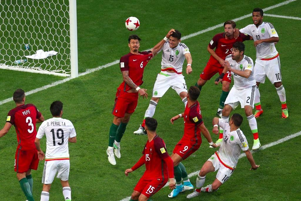 Portugal draw against Mexico