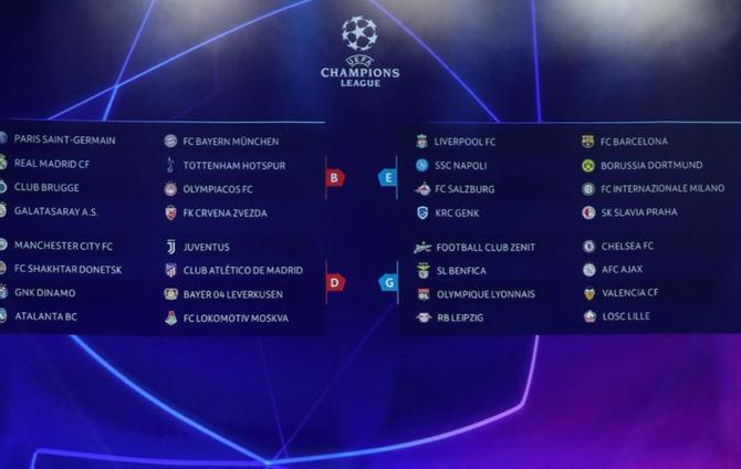 Champions League : Live, videos and results from UEFA