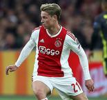 Ajax's De Jong Suffers Hamstring Injury