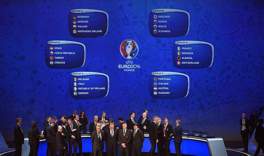 Euro 2016 Draw: England to Face Wales