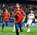 Ramos equals Casillas' Spain caps record