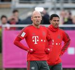 Robben dismisses Bayern title talk