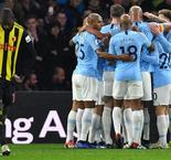 Manchester City Open Five-Point Gap With Watford Win