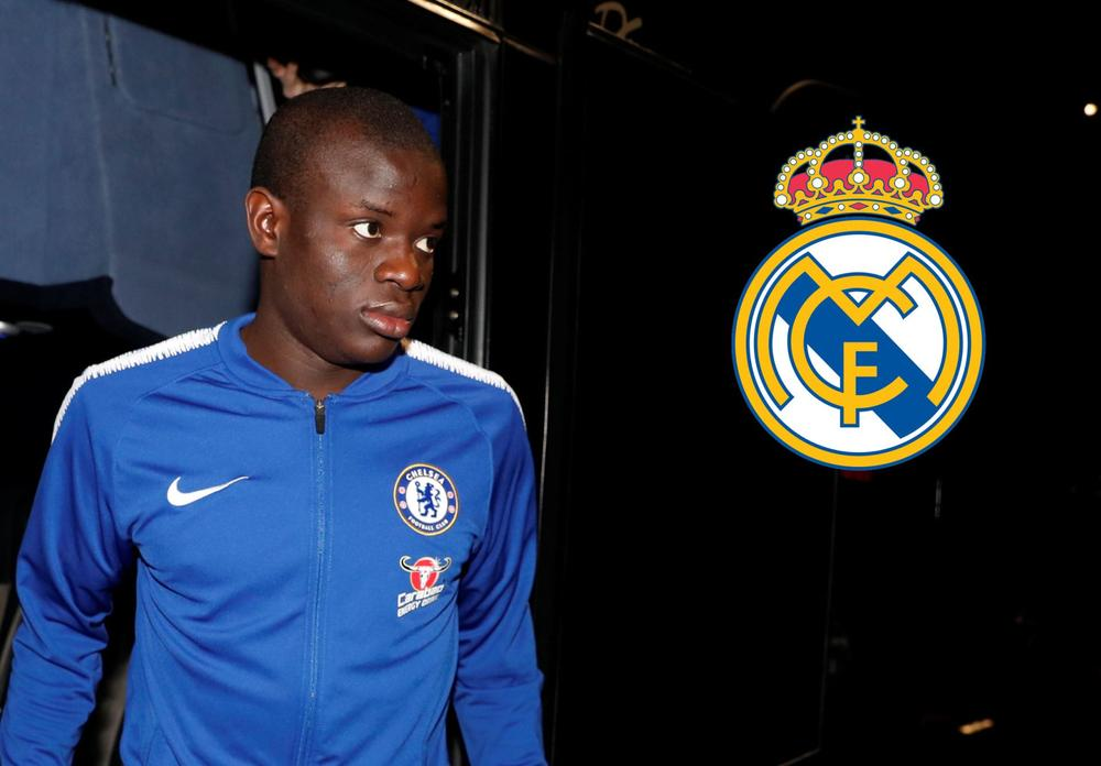 Real Madrid are reportedly looking at N'Golo Kante, but the Chelsea midfielder is focused only on performing at Stamford Bridge.