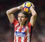 Filipe Luis back in Atletico's plans for Arsenal second leg