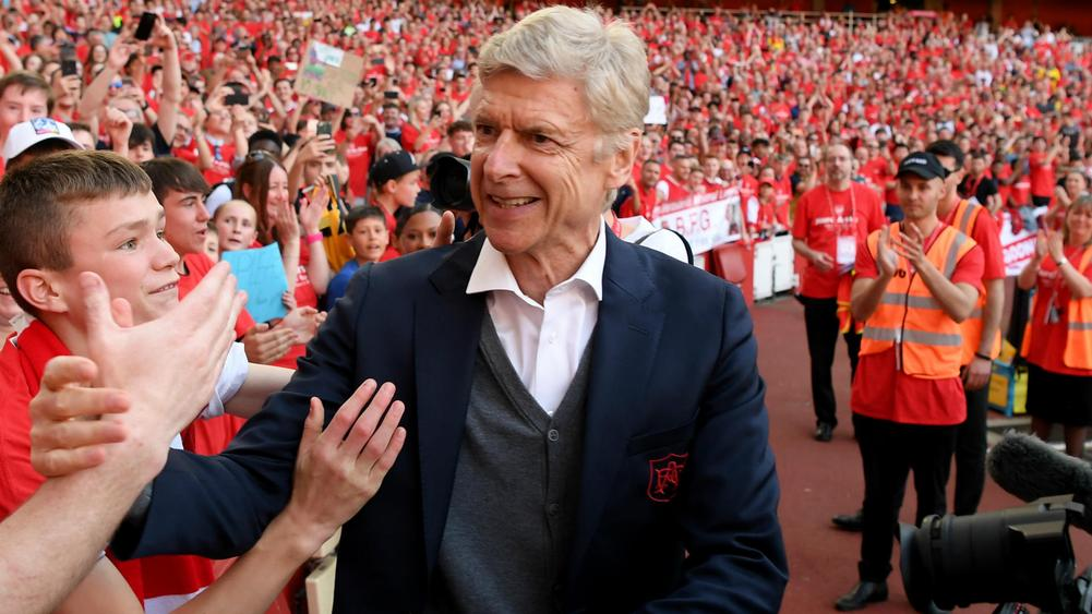 Arsene Wenger urges successor to 'respect' Arsenal values
