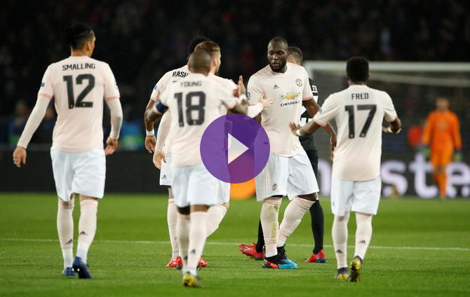 Uefa Champions League Psg 1 Manchester United 3