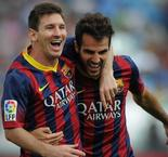 Fabregas' admiration for 'humble' great Messi