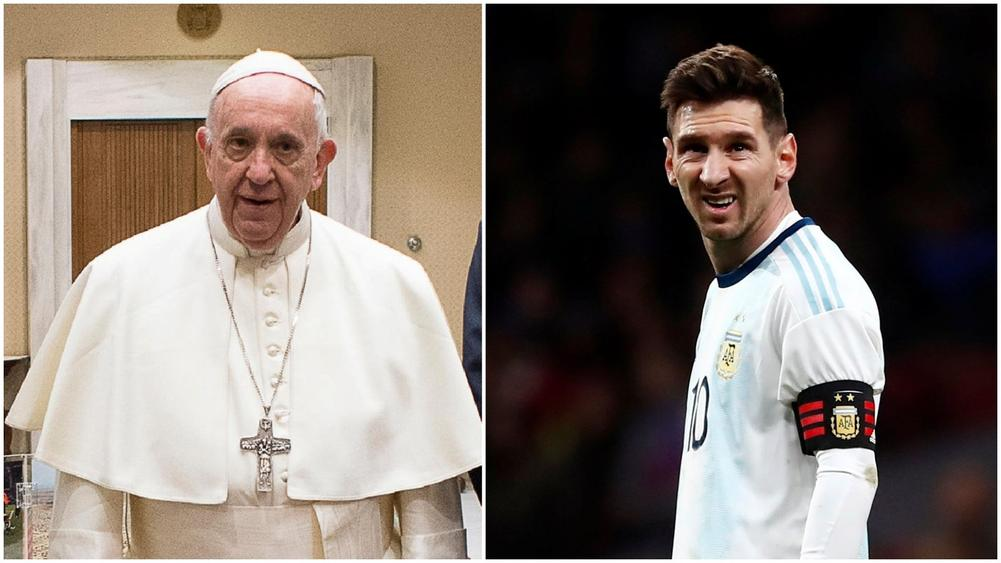 40f00a417  Messi is not God!  - Pope Francis on Sacrilegious Standing of Barcelona  Talisman