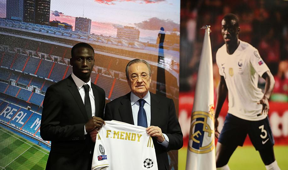 Real Madrid presenta a Ferland Mendy