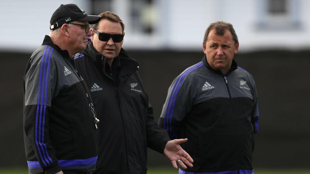 All Blacks assistant coaches re-sign through 2019 RWC