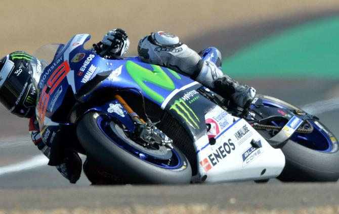 Jorge Lorenzo Breaks Lap Record in Le Mans Superpole