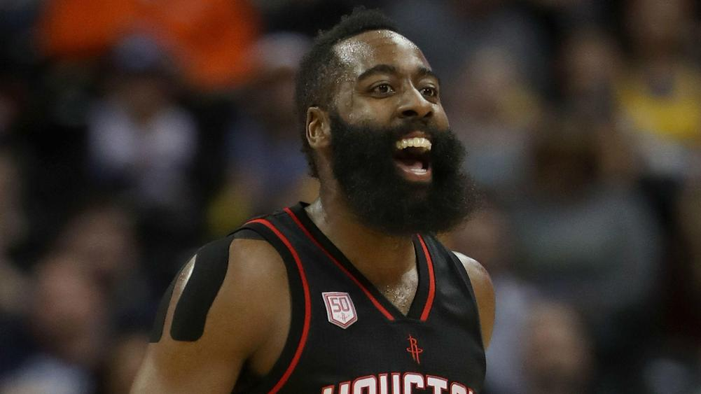 James Harden won the biggest contract in the history of the National Basketball Association