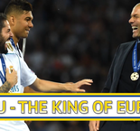 Zizou - The King of Europe