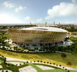 Qatar unveils World Cup final stadium