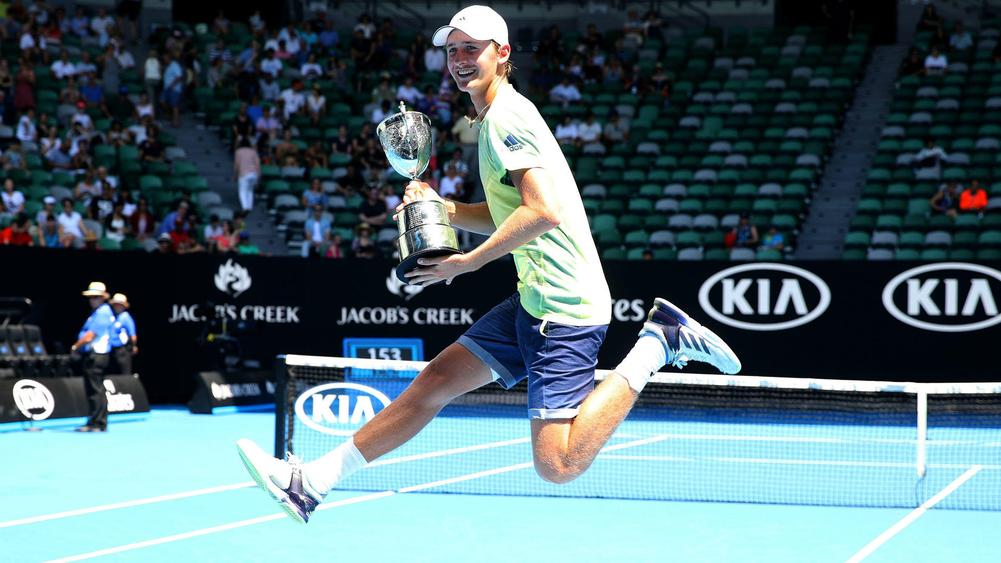 Petr Korda's son wins junior Australian Open