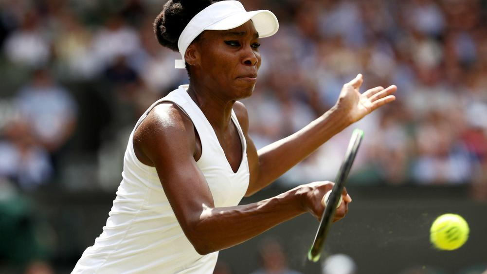 Wimbledon: Venus Williams rises again to stop Ostapenko in her tracks