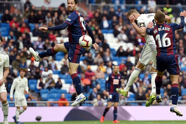 Real Madrid 2-1 Eibar