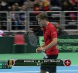 Switzerland's Davis Cup defence ends in round one