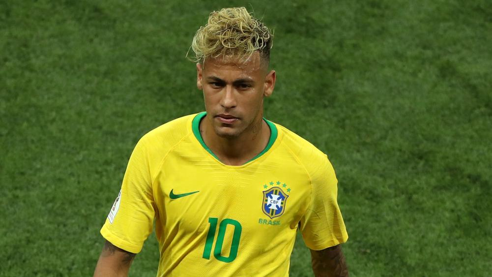 Hurting Neymar gets emotional at the World Cup