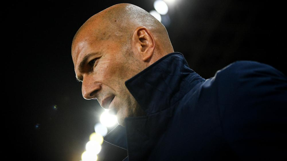 Zinedine Zidane Fighting For Job At Real Madrid Following Latest Loss