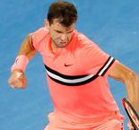Dimitrov holds off Kyrgios as wait for home champion goes on