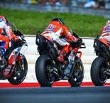 Ducatis Go 1-2-3 In Dry FP1, Marquez Tops Wet FP2