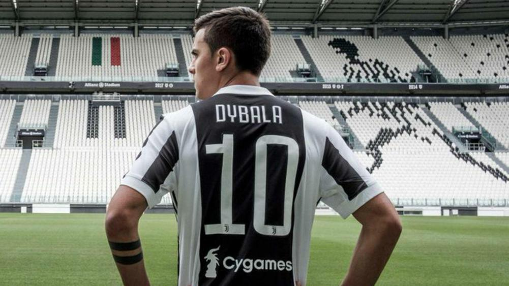 online retailer f6f26 96255 Dybala: Juventus number 10 shirt a childhood dream