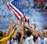 USA receive heroes' welcome in New York