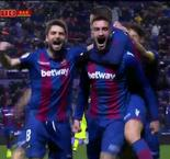 Cabaco Goal Gives Levante Early Lead Over Barcelona