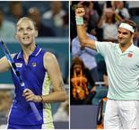 Miami : Pliskova et Federer face à la malédiction