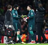 Cech in doubt for north London derby