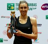 Martic rallies to claim first title at Istanbul Cup