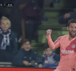 Getafe 0-1 Barcelona: Messi Pounces For Opening Goal