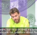 Wawrinka done with the Federer questions