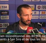 Barrages - Chiellini : ''On a touché le fond''