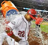 Soto Hits HR In First MLB Game For Nationals