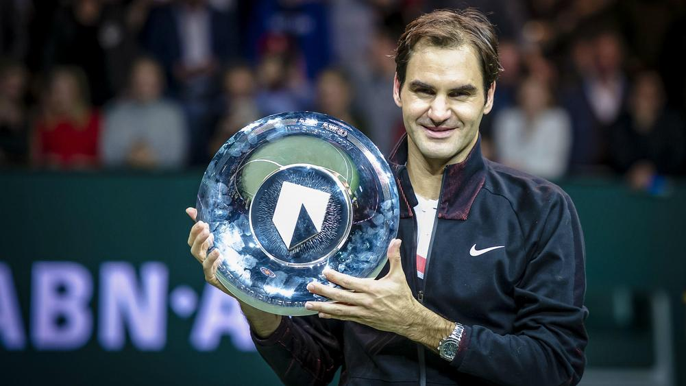 Roger Federer Wins Rotterdam for 97th Career Title