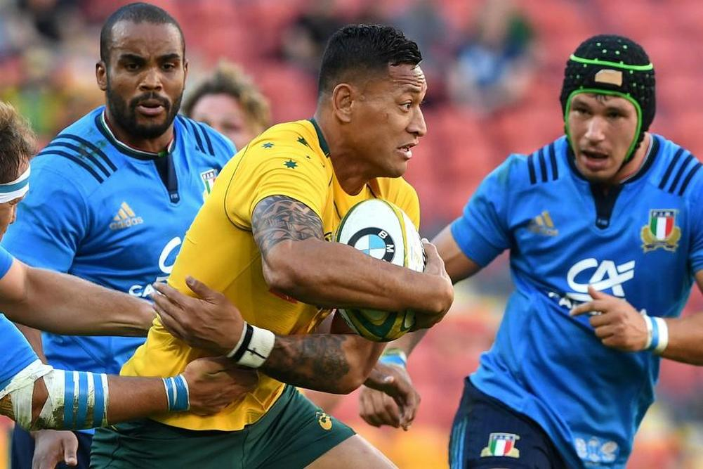 Test: Les Wallabies ont tremblé contre l'Italie