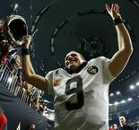 History-maker Brees says there's more to be done