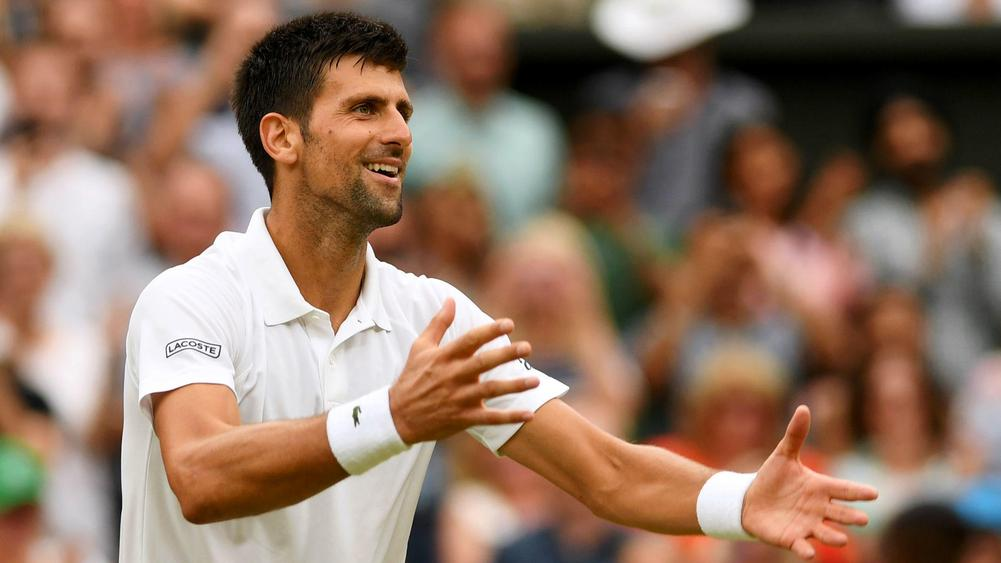 Djokovic advances to Wimbledon quarterfinals