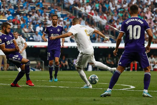 Real Madrid 1-1 Real Valladolid