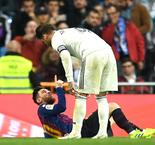 Ramos Clashed With Messi Deliberately To Inspire Real Madrid, Mourinho Implies