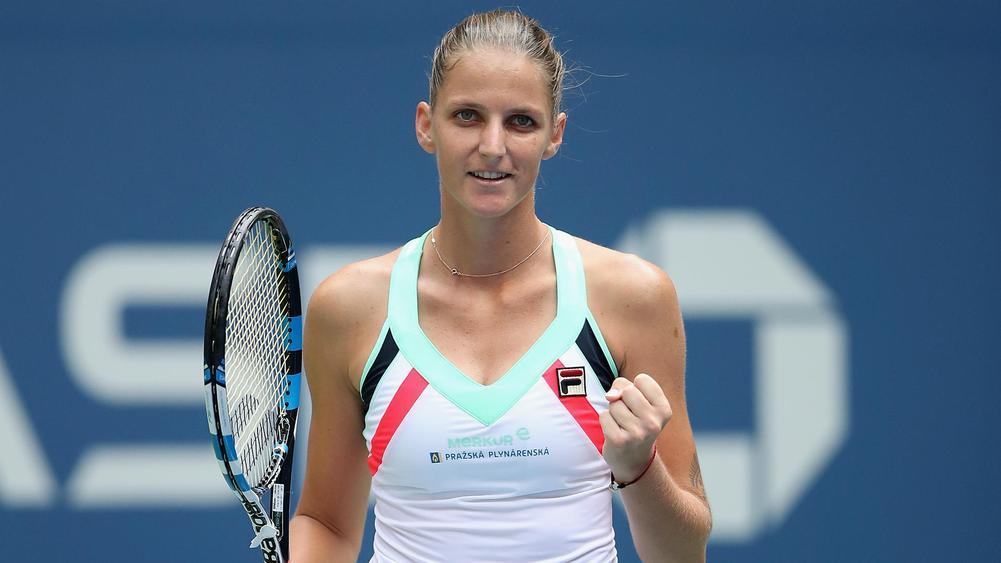 Young American nearly knocks off No. 1 Karolina Pliskova