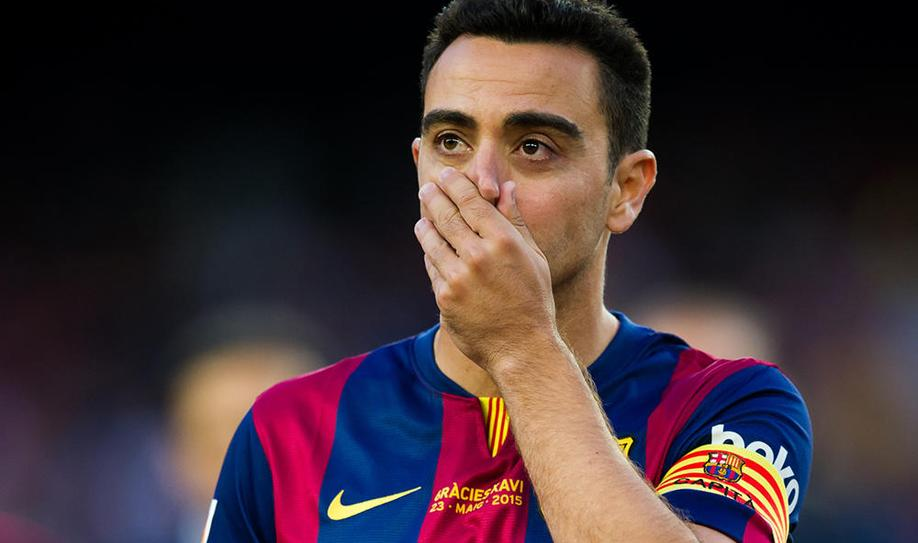 The Camp Nou said goodbye to Xavi