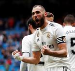 Benzema Brace Gives Real Madrid Lead Over Eibar