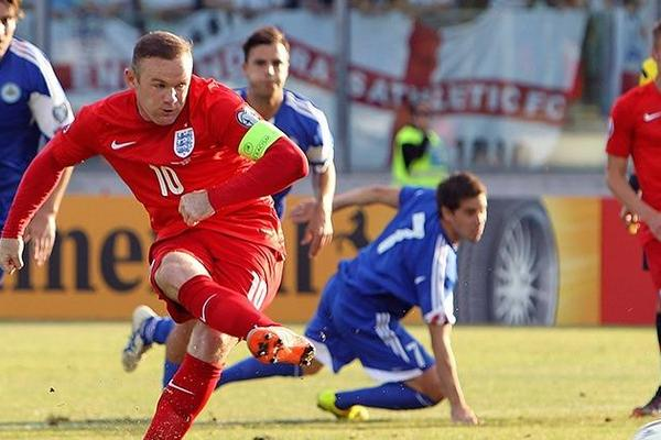 San Marino 0-6 England: Rooney equals Charlton's record as Three Lions seal Euro 2016 place